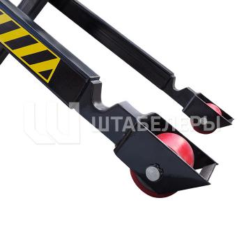 Гидравлическая тележка рохля с ножничным подъемом JF 1000